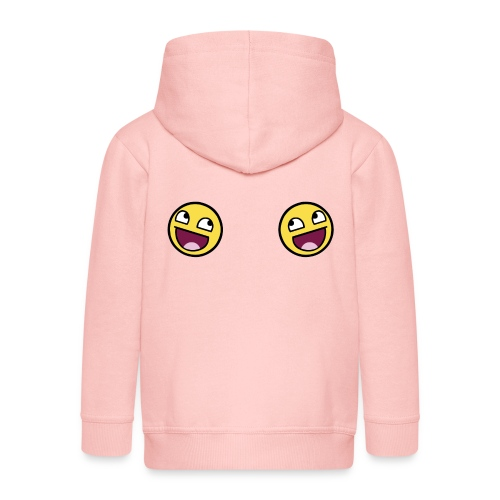 Design lolface knickers 300 fixed gif - Kids' Premium Hooded Jacket