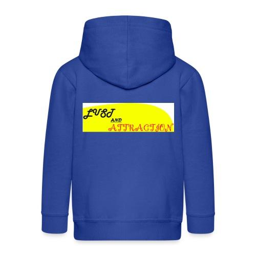lust ans attraction - Kids' Premium Zip Hoodie