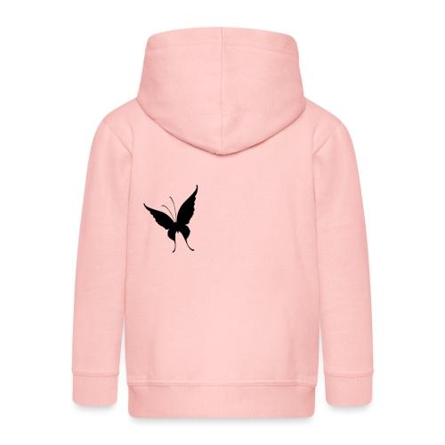 Schmetterling - Kinder Premium Kapuzenjacke