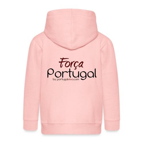 Força Portugal - Veste à capuche Premium Enfant