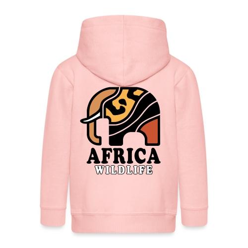 Elefant I AFRICA Wildlife - Kinder Premium Kapuzenjacke