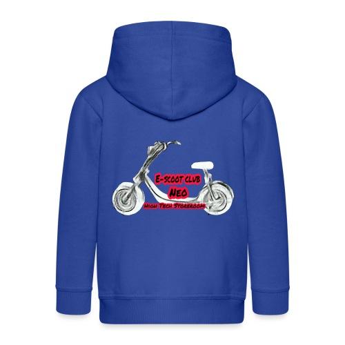 Neorider Scooter Club - Veste à capuche Premium Enfant
