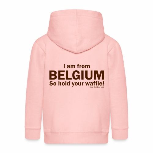From Belgium - Kinderen Premium jas met capuchon