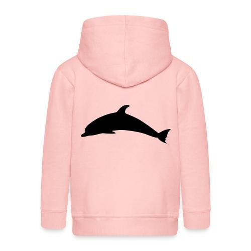 T-Shirt Dolphin - Kinder Premium Kapuzenjacke