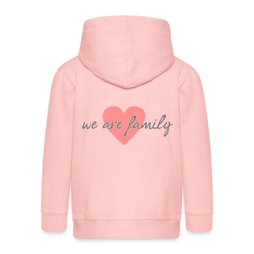 we are family 01 - Kinder Premium Kapuzenjacke