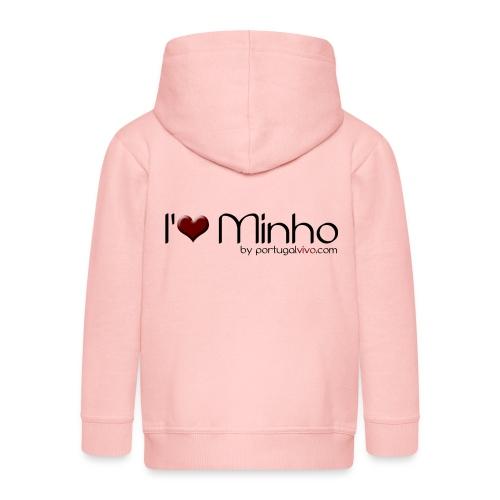 I Love Minho - Veste à capuche Premium Enfant