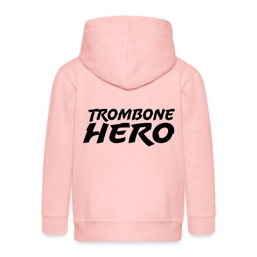 Trombone Hero - Premium Barne-hettejakke