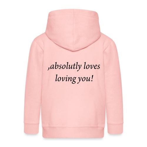 absolutly loves loving - Lasten premium hupparitakki