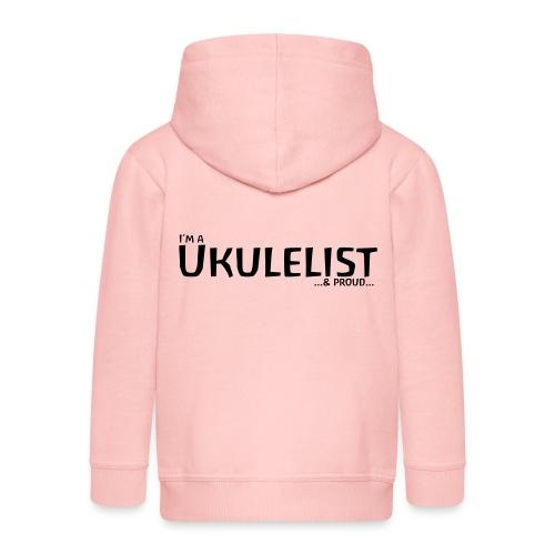 Ukulelist - Kids' Premium Hooded Jacket