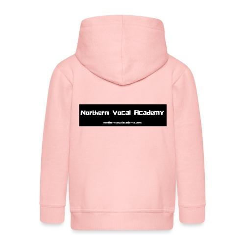 Northern Vocal Academy Logo - Kids' Premium Hooded Jacket