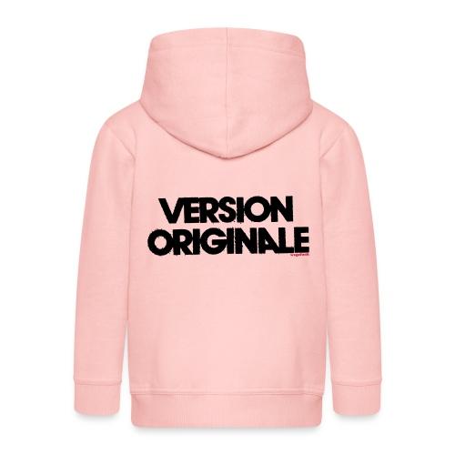 Version Original - Veste à capuche Premium Enfant