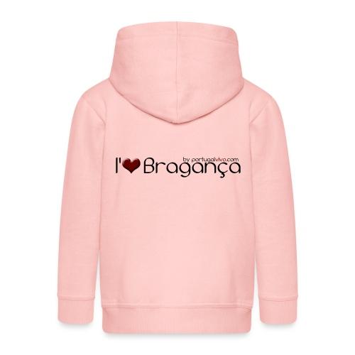 I Love Bragança - Veste à capuche Premium Enfant