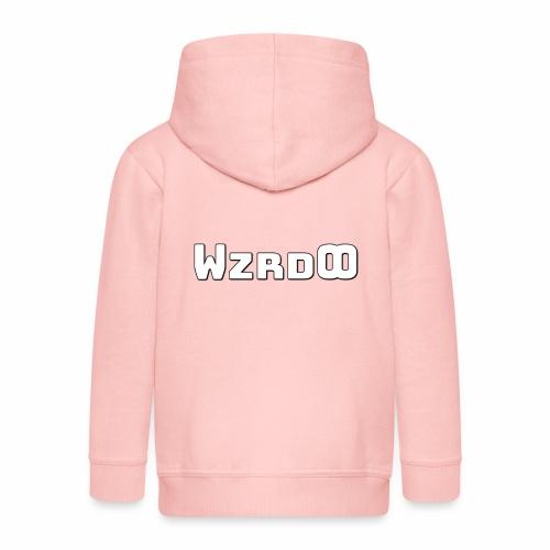 WzrdOO Logo - Lasten premium hupparitakki