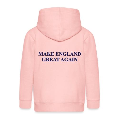 MAKE ENGLAND GREAT AGAIN - Kids' Premium Hooded Jacket