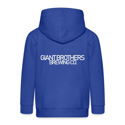 Giant Brothers Brewing co white - Premium-Luvjacka barn