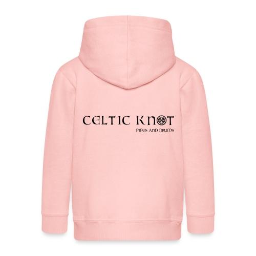 Celtic knot - Felpa con zip Premium per bambini
