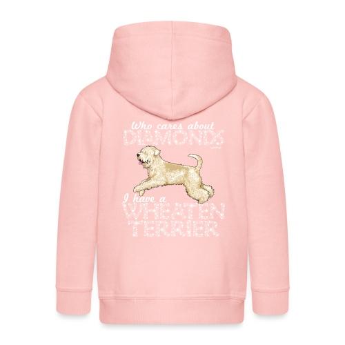 Wheaten Terrier Diamonds 4 - Kids' Premium Hooded Jacket