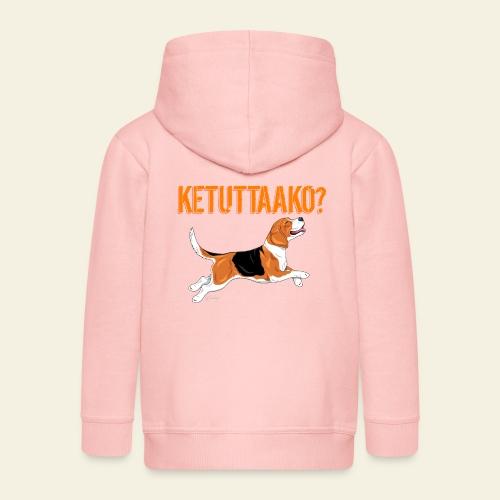 Ketuttaako Beagle - Lasten premium hupparitakki