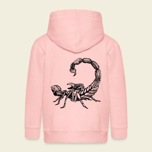 Skorpion - Kinder Premium Kapuzenjacke