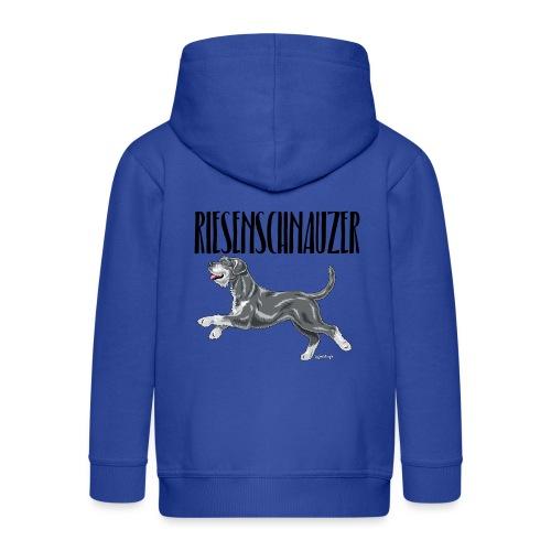 Riesenschnauzer 01 - Kids' Premium Zip Hoodie
