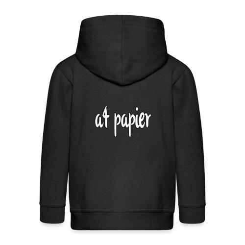 A4Papier - Kinderen Premium jas met capuchon