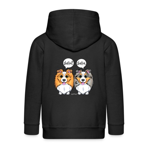 Sheltie Sheltie 3 - Kids' Premium Zip Hoodie