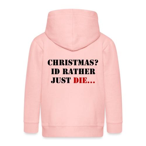 Christmas joy - Kids' Premium Zip Hoodie