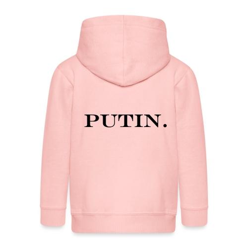 Vladimir PUTIN. - Kinder Premium Kapuzenjacke