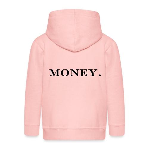 Money Geld - Kinder Premium Kapuzenjacke