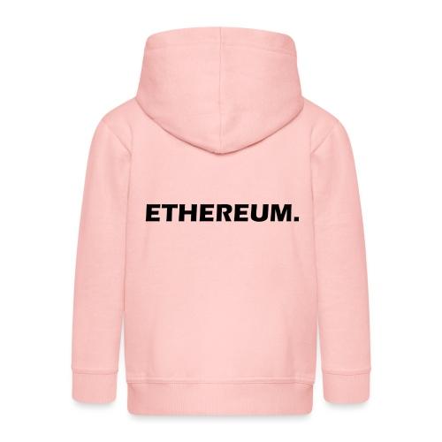 Ethereum - Kinder Premium Kapuzenjacke
