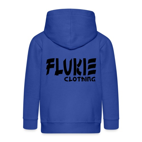 Flukie Clothing Japan Sharp Style - Kids' Premium Zip Hoodie