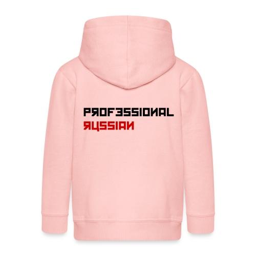 Professional Russian small - Black type - Kinderen Premium jas met capuchon
