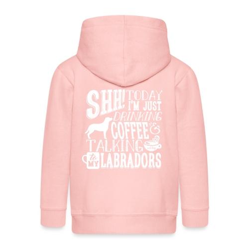 SHH Labrador Coffee 3 - Lasten premium hupparitakki
