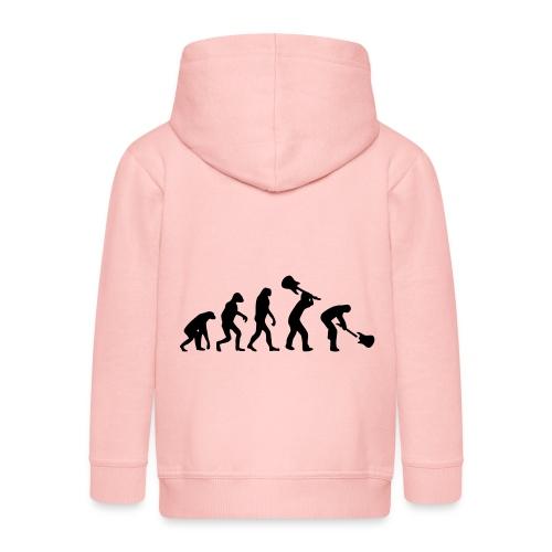 Evolution Rock - Chaqueta con capucha premium niño