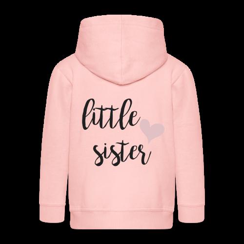 little sister - Kinder Premium Kapuzenjacke
