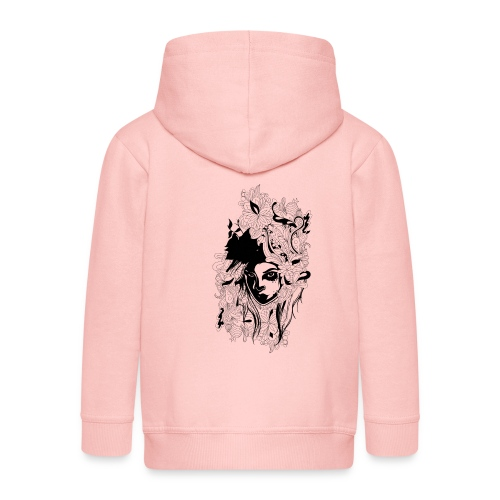 Akasacian tshirt design 611 - Chaqueta con capucha premium niño