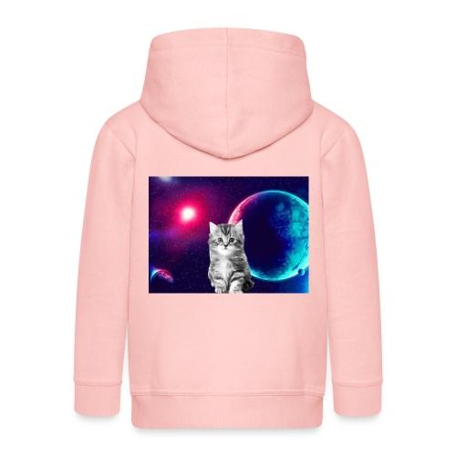 Cute cat in space - Lasten premium hupparitakki