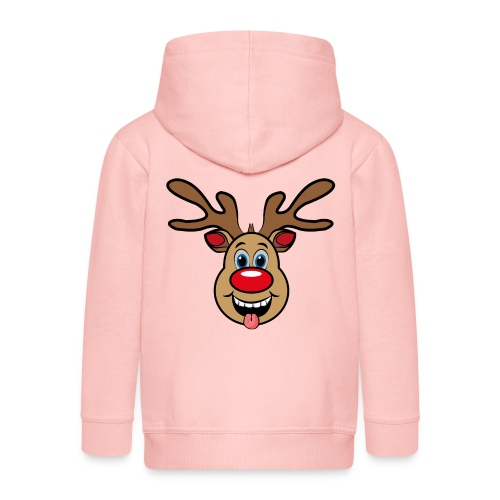 UGLY XMAS - Reindeer Rudi - Kinder Premium Kapuzenjacke