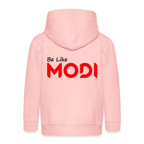 Be Like MoDi - Rozpinana bluza dziecięca z kapturem Premium