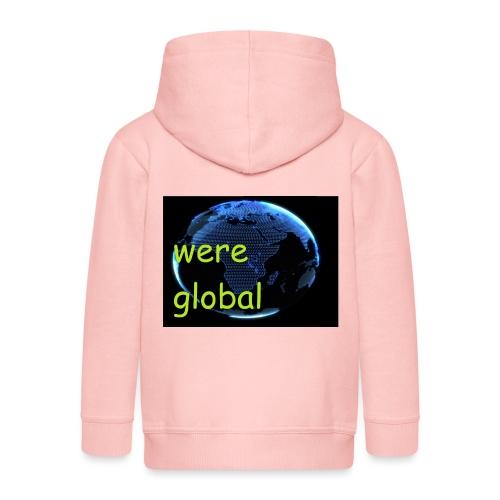 Were Global - Lasten premium hupparitakki
