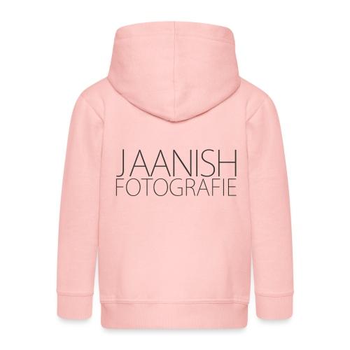 LOGO JAANISH PNG - Kinderen Premium jas met capuchon