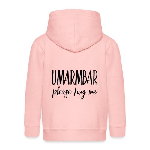 UMARMBAR - please hug me - Kinder Premium Kapuzenjacke