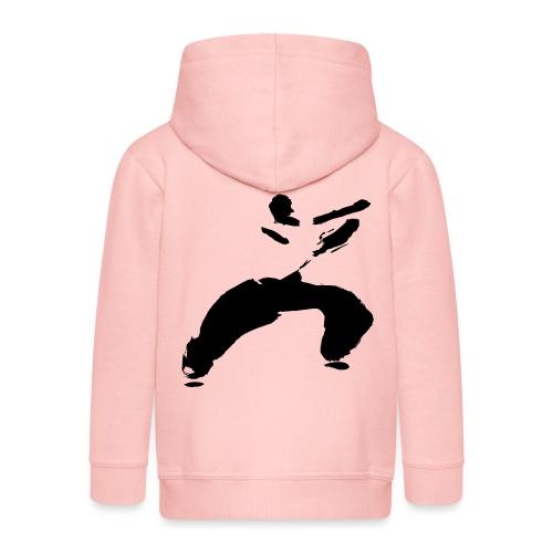 kung fu - Kids' Premium Hooded Jacket