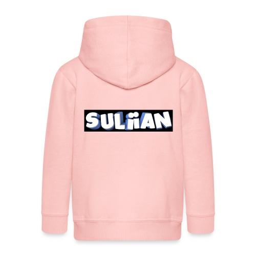 Suliian -Schrift 1 - Kinder Premium Kapuzenjacke