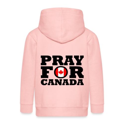 Kanada - Kinder Premium Kapuzenjacke