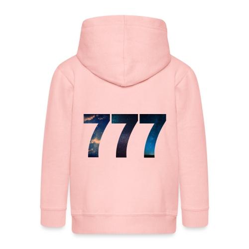 777 un nombre qui apporte chance et spiritualité - Veste à capuche Premium Enfant