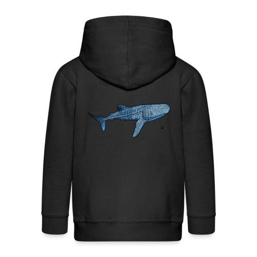 Requin baleine - Veste à capuche Premium Enfant