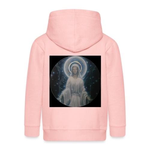 圣母玛利亚 Notre Dame by Jean Libon (Noir) - Veste à capuche Premium Enfant