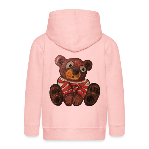 Teddy bear - Felpa con zip Premium per bambini