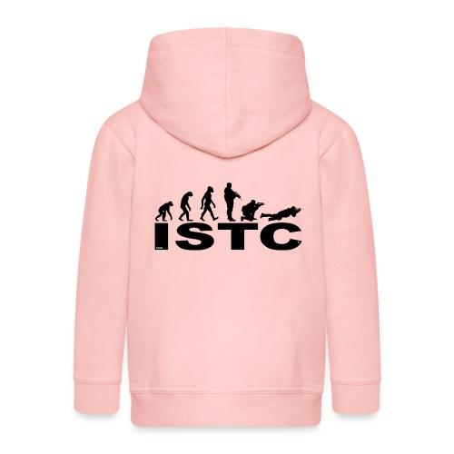 ISTC NOIR - Veste à capuche Premium Enfant